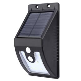 Outdoor 10 LEDs Solar Powered Motion Sensor Light Waterproof Wall Lamp